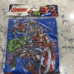 Marvel avengers youth poncho